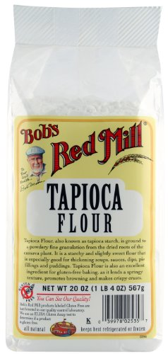 Bob's Red Mill Tapioca Flour, 20-Ounce (Pack of 4)