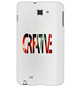 SAMSUNG GALAXY NOTE 2 CREATIVE Back Cover by PRINTSWAG