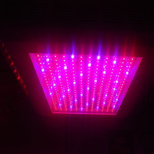 Ledwholesalers 2511Rbow Pro Series Full Spectrum 288 X 1 Watt Led Grow Light