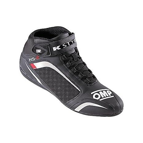 Omp - Chaussures Omp Ks-2 Noir/Rouge 40