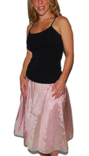 Polo Ralph Lauren Black Label Womens Silk Pink Skirt 6