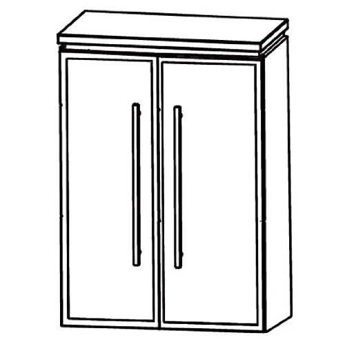 Cool Puris Line (HBA516B5 Bathroom Cabinet 60 CM