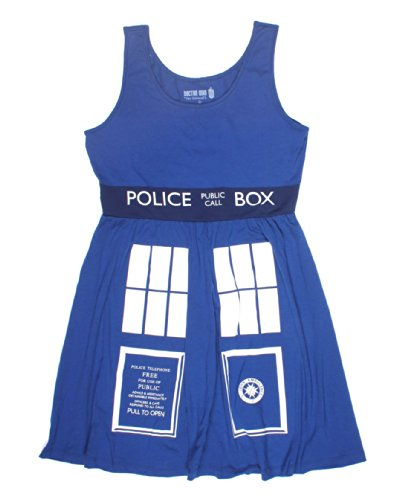 Doctor Who Her Universe TARDIS Costume Dress Size: X-Small