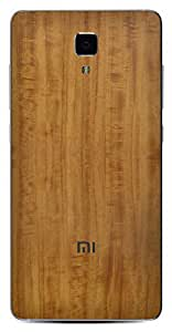 Skinnova Teak Wood Skin for Xiaomi Mi4
