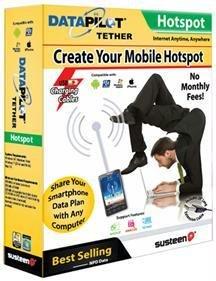 Susteen Data Pilot Tether For Smartphones front-722997