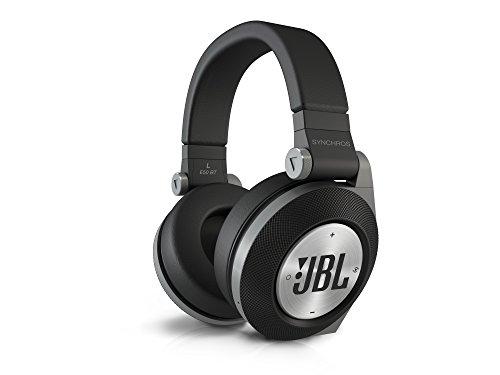 JBL E50 BT Wireless Bluetooth Over-Ear Stereo-Kopfhörer (Integrierter Fernbedienung/Mikrofonsteuerung, ShareMe Technologie, PureBass-Leistung, Kompatibel mit Apple iOS/Android Geräten) schwarz