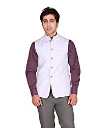 GIVO Mauve Wedding Nehru Jacket