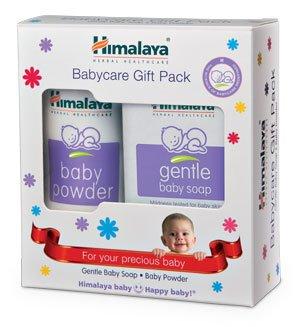 Himalaya Herbals Babycare Gift Box - Mini (Soap and Powder)