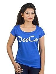 Eeia Women's Tee (E003m_Blue_Medium)