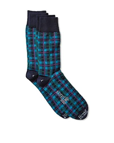 Corgi Men's Combed Socks 2-Pack, Multi, One Size As You See