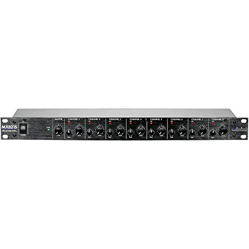 ART MX821S 8-Channel Personal Mixer Stereo (8 Channel Stereo Line Mixer compare prices)
