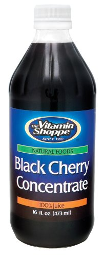 Отзывы the Vitamin Shoppe - Black Cherry Concentrate (Unsweetened), 16 fl oz liquid