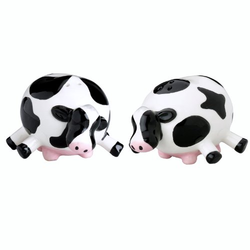 Udderly Cows Salt and Pepper Shaker Set