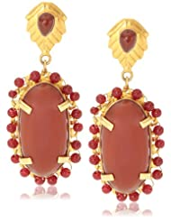 Made By M Drop And Dangler Earring For Women (Gold) (MBM-EAR-080)