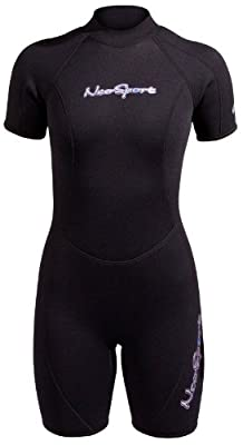 NeoSport Wetsuits 3mm Women's Premium Neoprene Shorty