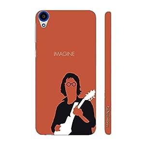 Enthopia Designer Hardshell Case John Lennon Back Cover for HTC Desire 820