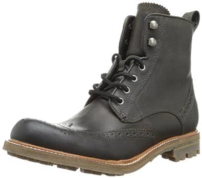 John Varvatos Men's Townshend Boot,Lead,8 M US