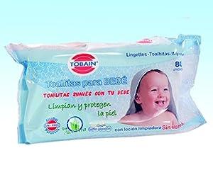 Pack con 80 toallitas húmedas especiales para bebé o cuidado especial de personas marca Clim Profesional en BebeHogar.com