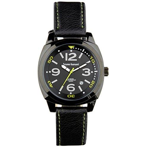 Bruno Banani watch strap Ketos Leather Watch Analog BR30018