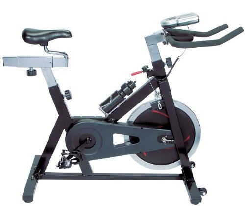 Brand New Exercise Fitness Bike Flywheel with LCD - 17 Black