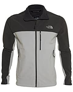 The North Face Mens Apex Bionic Windproof Jacket (XX-large, HIGH RISE GREY / ASPHALT GREY) from The North Face Inc
