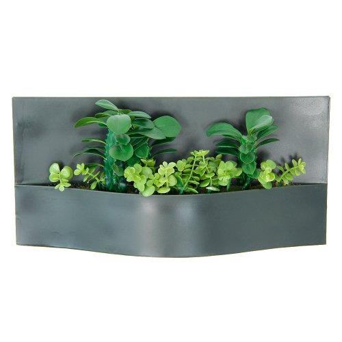 Parete Piante Artificiali : Lovely piante succulente artificiali in un vaso