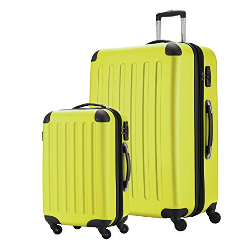 Hauptstadtkoffer Set di valigie, giallo (Giallo) - HK1203-GL-49+128