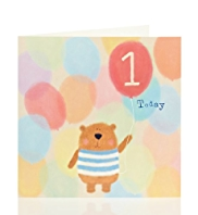 1st Bear Kids Birthday Card