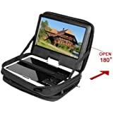 "HSN New Car Headrest Mount Strap Case Bag For 9""- 9.5"" Portable DVD Player UK Stock"