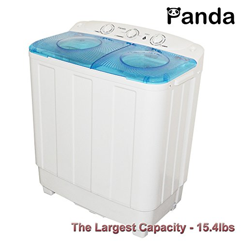 Panda Small Compact Portable Washing Machine (15.4lbs Capacity) with Spin Cycle XPB70- Largest Size (Washing Machines Portable compare prices)
