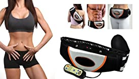 Milex iFit Massager & Abdominal Toning Belt Professional Complete Set - More Functions, No pads Needed