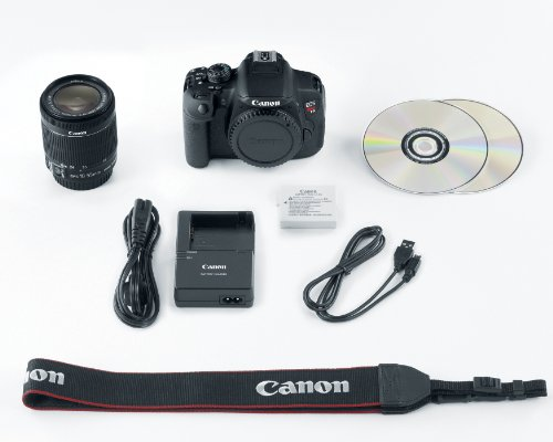 Canon EOS Rebel T5i 18.0 MP CMOS Digital SLR with 18-55mm EF-S IS STM Lens: CANON