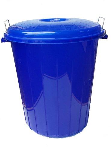 50L LITRE BLUE LUXURY WASTE BIN / RECYCLING BIN / REFUSE / DUSTBIN / RUBBISH BIN