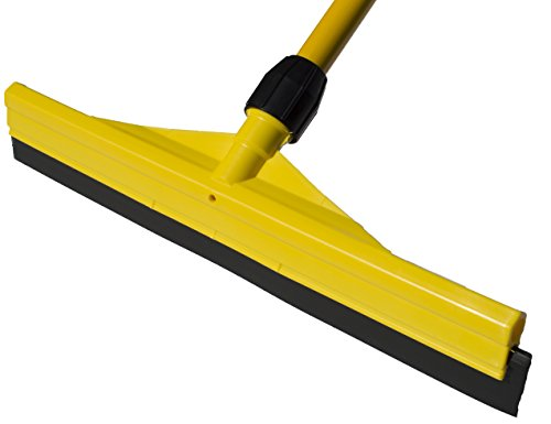 Commercial Grade All Purpose Scratch Resistant Rubber Blade Floor Squeegee with 56