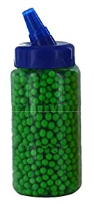 1 x 2000bb 6mm BB Gun Pellets Airsoft Bullets GREEN COLOUR