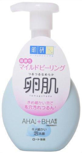 ロート製薬 肌研 卵肌 マイルドピーリング泡洗顔 160ml