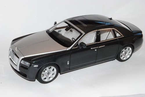Rolls Royce Ghost 2011 Grau Schwarz 1/18 Kyosho Modell Auto