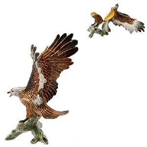 Joyero - Eagle sobre rama fabricados en Metal fundido tarro para dulces y golosinas