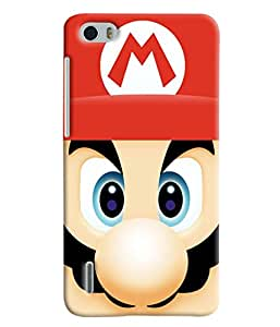Blue Throat Mario Hero Printed Designer Back Cover For Huawei Honor 6