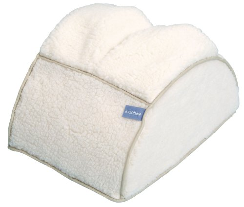 Leachco Rock N Soft Cushioned Nursing Stool, Ivory