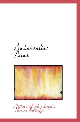 Ambarvalia: Poems