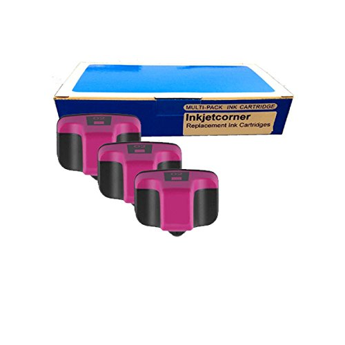 Pack MAGENTA Remanufactured Ink Cartridge Shows Ink Level for HP No. 02