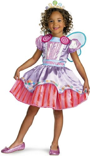Candyland Deluxe Girl Costume
