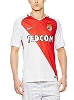 Nike Camiseta de Fútbol As Monaco M Nk Dry Stad Jsy Ss Hm (Blanco)