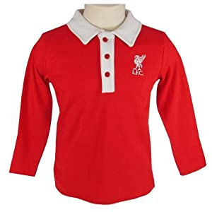 Liverpool F.C. Polo Shirt 18/23 mths- infant polo shirt- to fit 12 / 18 months (cm)- 100% cotton- official licensed product by Liverpool