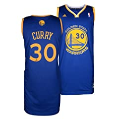 Stephen Curry Golden State Warriors Autographed adidas Swingman Blue Jersey -... by Sports Memorabilia