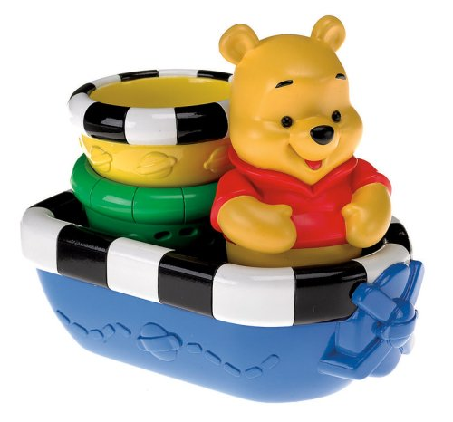 Pooh Bath Boat - Fisher Price - 1