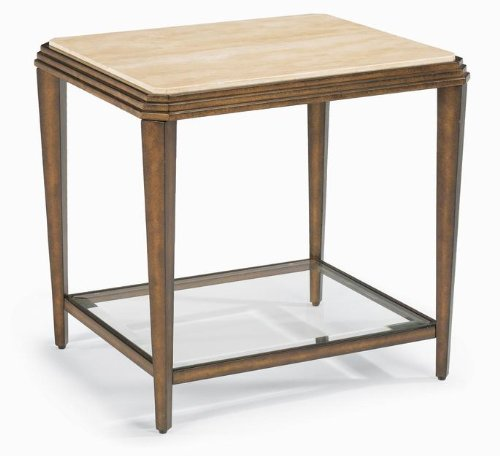 Image of Flexsteel 6629-01 Seville End Table (B0047ZE3Z2)