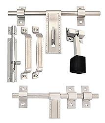 Klaxon A-one Steel Door Accessories Kit (Matte Finish)