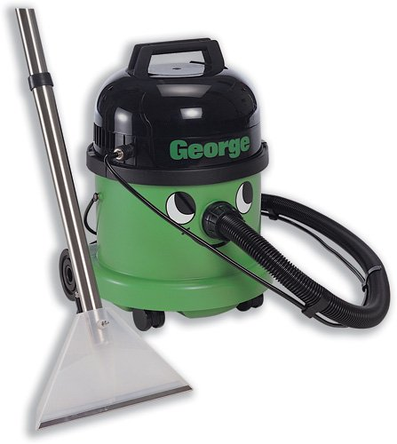 Numatic George All-in-One Vacuum Cleaner 1200W 15L Dry 9L Wet 8.8kgW355xD355xH515mm Green Ref GVE370A26